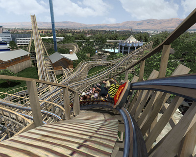 High-speed twists, turns, drops, station fly-by and the Old West are the top features of Gold Striker, currently under construction at California's Great America. The ride opens Spring 2013.