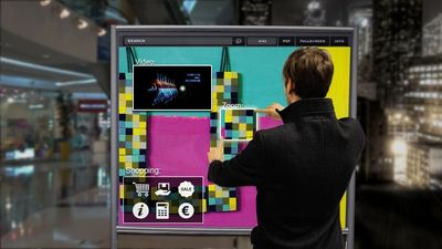 Stereoscape announces distribution deal for Vision2Watch interactive marketing and media solutions (PRNewsFoto/Stereoscape)