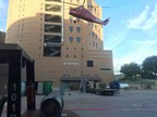 MEI Places New Data Equipment for Dallas Justice Center With a Helicopter