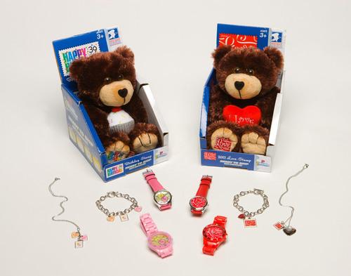 Beary cool gift ideas from the U.S. Postal Service.  (PRNewsFoto/U.S. Postal Service)