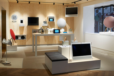 Bang & Olufsen opens new showroom in Seattle.  (PRNewsFoto/Bang & Olufsen)
