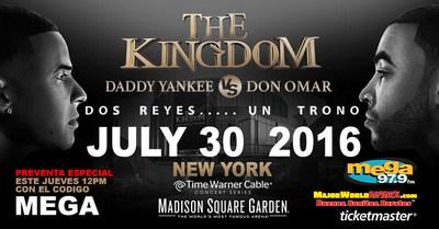 """Daddy Yankee y Don Omar """"THE KINGDOM"""""""