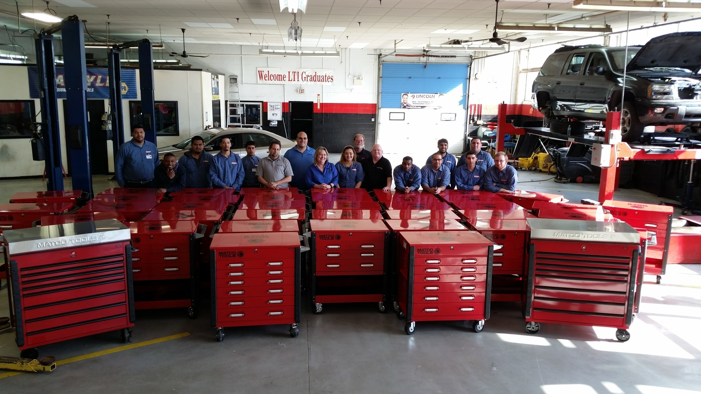 Lincoln Tech Partners With Matco Tools To Supply Students With Professional Tool Kits