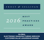 SMTC Corporation is recognized with the 2016 Global Electronic Manufacturing Customer Value Leadership Award