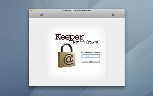 Now in the iTunes App Store!  Keeper Lite®