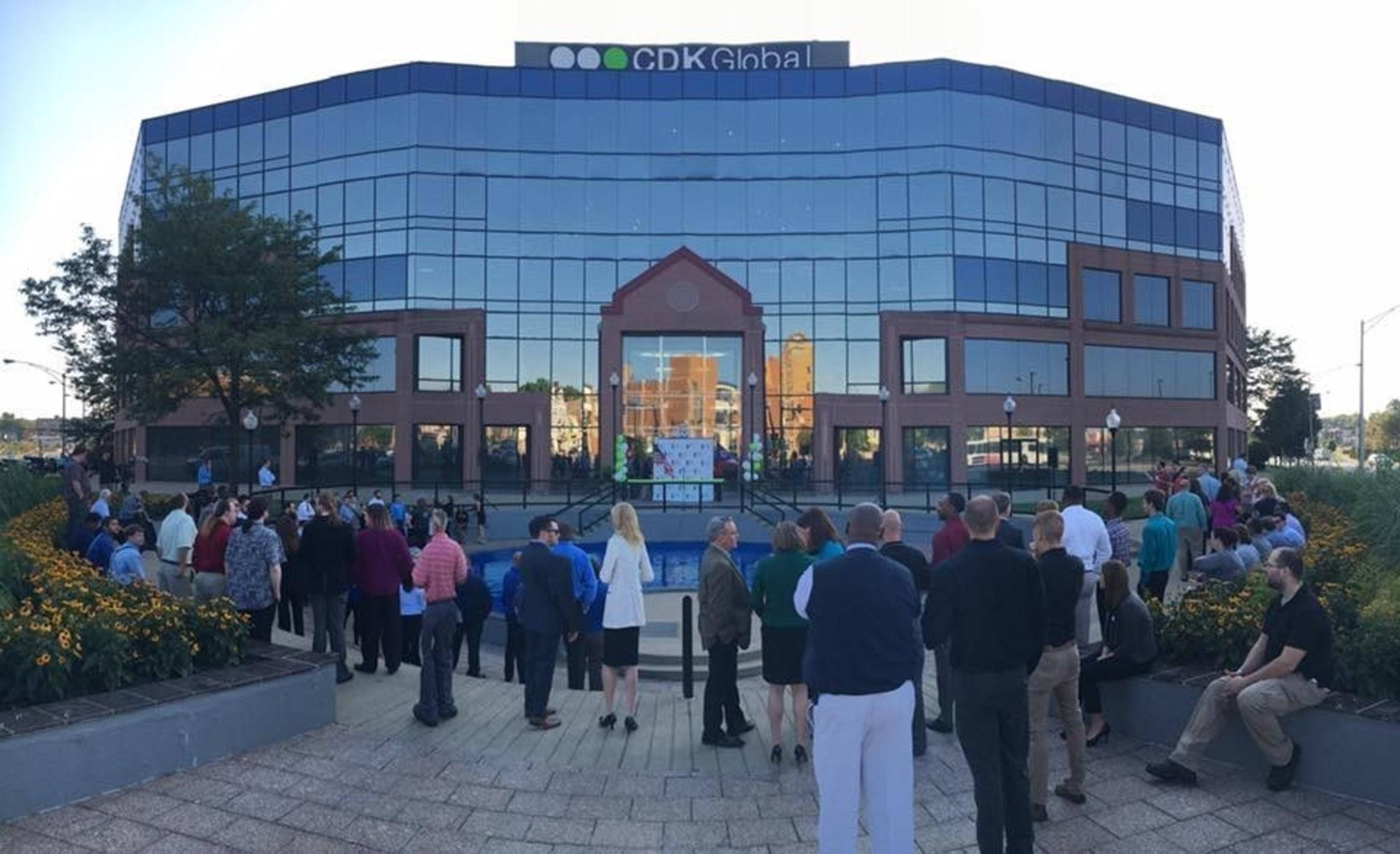 Exterior of the new CDK Global Customer Experience Center in Cincinnati, Ohio