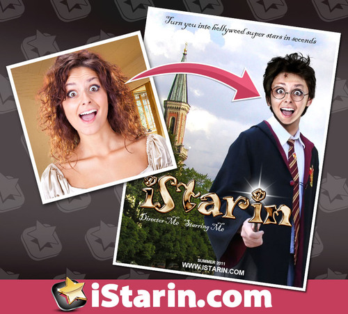 iStarin.com is Released to Help People Turn into Hollywood Super Stars in Seconds