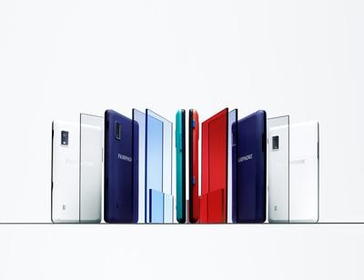 Fairphone 2 in new slim cases