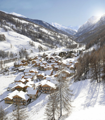 Club Med Debuts New Ski Resort in the Italian Alps with Pragelato Vialattea's Opening.  (PRNewsFoto/Club Med)