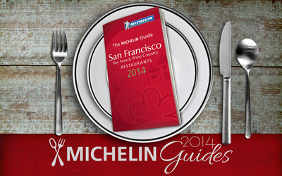 Michelin Releases 2014 Edition of Its Famed Guide to the Bay Area's Great Restaurants. (PRNewsFoto/Michelin)