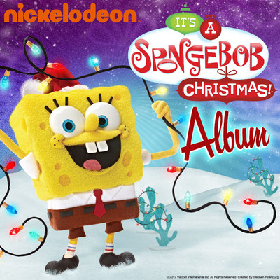 Deck The Halls To The Sounds Of Bikini Bottom SpongeBob Christmas Album Available Now.  (PRNewsFoto/Nickelodeon)