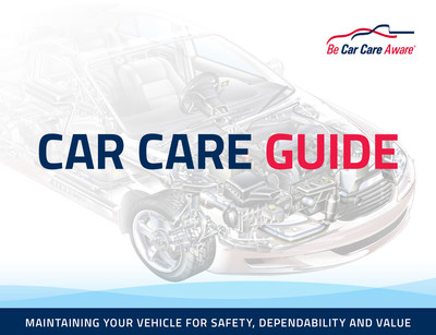 Car Care Council Updates Free Car Care Guide for Motorists (PRNewsFoto/Car Care Council)