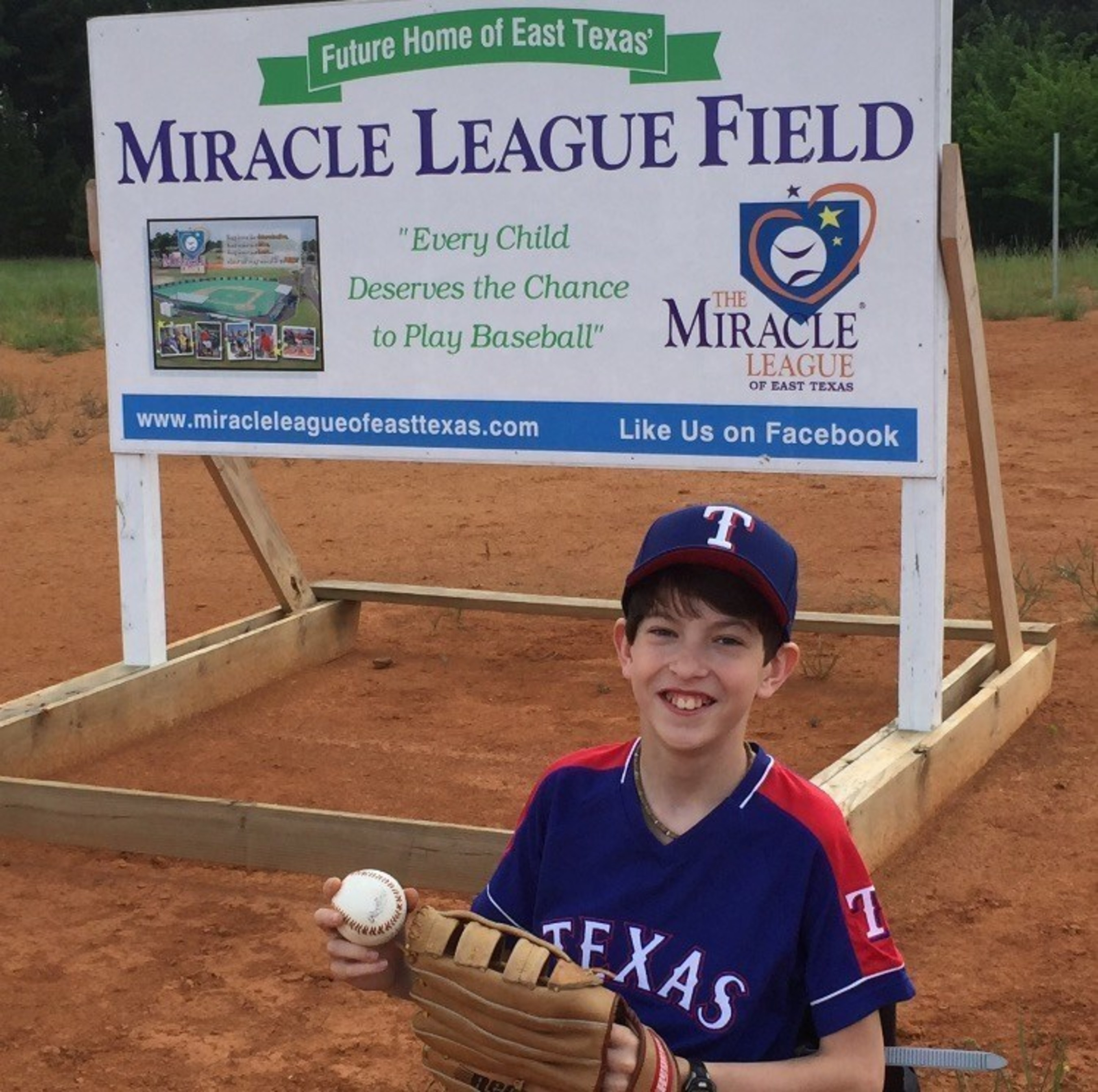 Joshua Sanders-Athlete from The Miracle League of East Texas