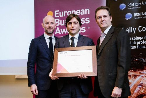 eFM is a success story in Europe: promoting youth, talent, innovation and hope. eFM has been recognized as National Champion within the European Business Awards. The award discovers companies that have achieved excellent results and distinguished themselves as leaders. eFM, an engineering company focused on Real Estate, Facility Management and Smart Cities, is competing for its entrepreneurial skills and the courage to find new ways to succeed. Support courage, innovation, youth and start-ups. (PRNewsFoto/eFM Srl)