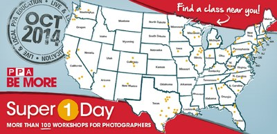 Two dynamic weeks provide over 100 workshops for photographers. (PRNewsFoto/Pro Photographers of America)