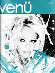 VENU MAGAZINE Winter/Holiday Issue #29 featuring a cover story on Pamela Anderson and photographer/mixed media artist, Emma Dunlavey.