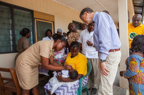 Global Leaders Unite to Give All Children a Healthy Start to Life.  (PRNewsFoto/Bill & Melinda Gates Foundation)