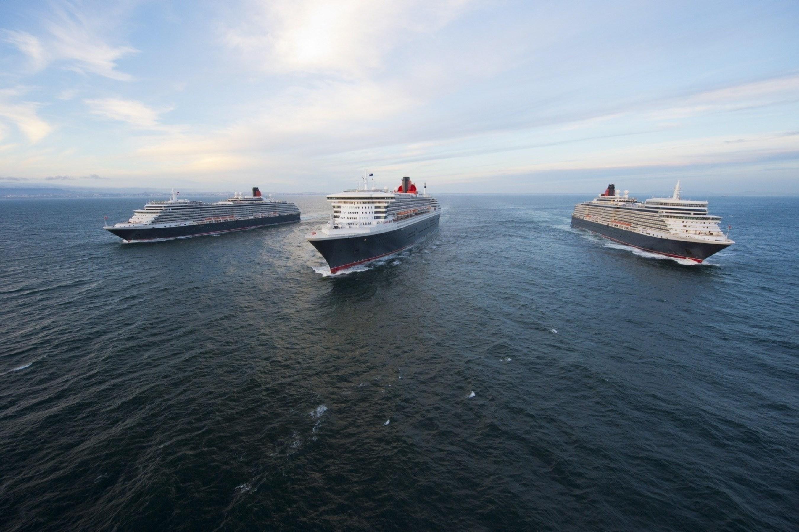 Cunard's three Queen
