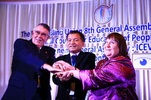 WBU - ICEVI 2012 concludes successful the 1st joint General Assembly in Bangkok with more than 120 ...