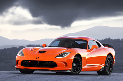 2014 SRT Viper TA - Coming in Late 2013 and Ready to Attack Any Road Course.  (PRNewsFoto/Chrysler Group LLC)