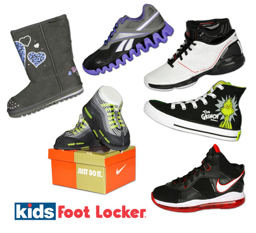 Kids Foot Locker Introduces Giftables This Holiday Season