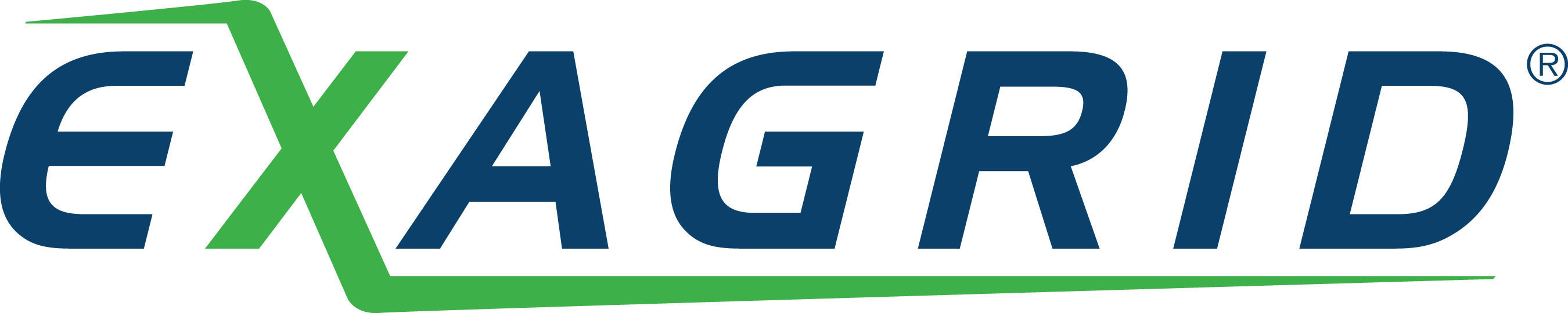 ExaGrid logo.