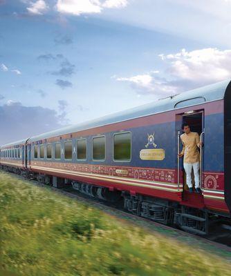 Deccan Odyssey, the award winning luxury train in India