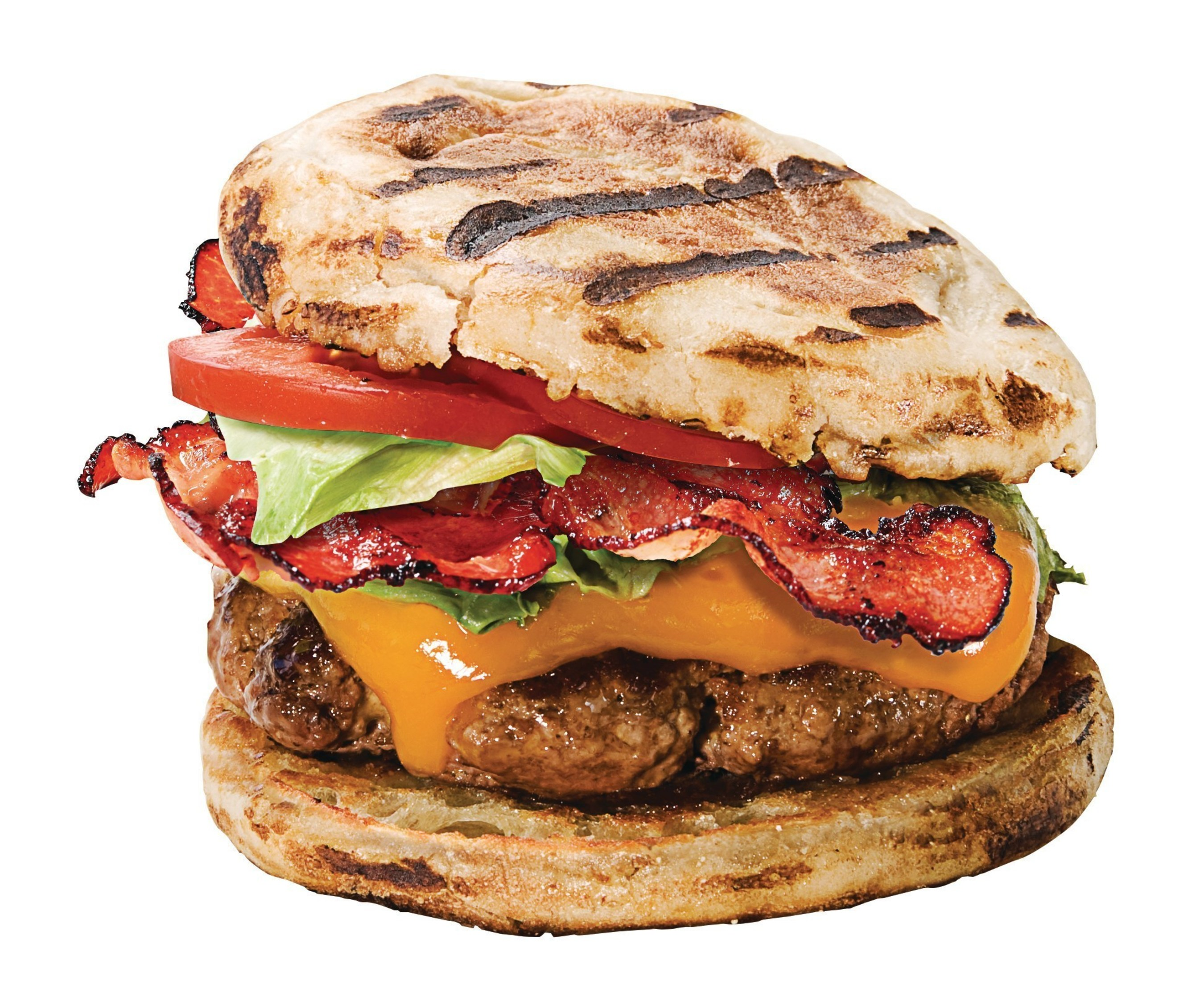 Thomas' Grillers XL English Muffins Burger Image