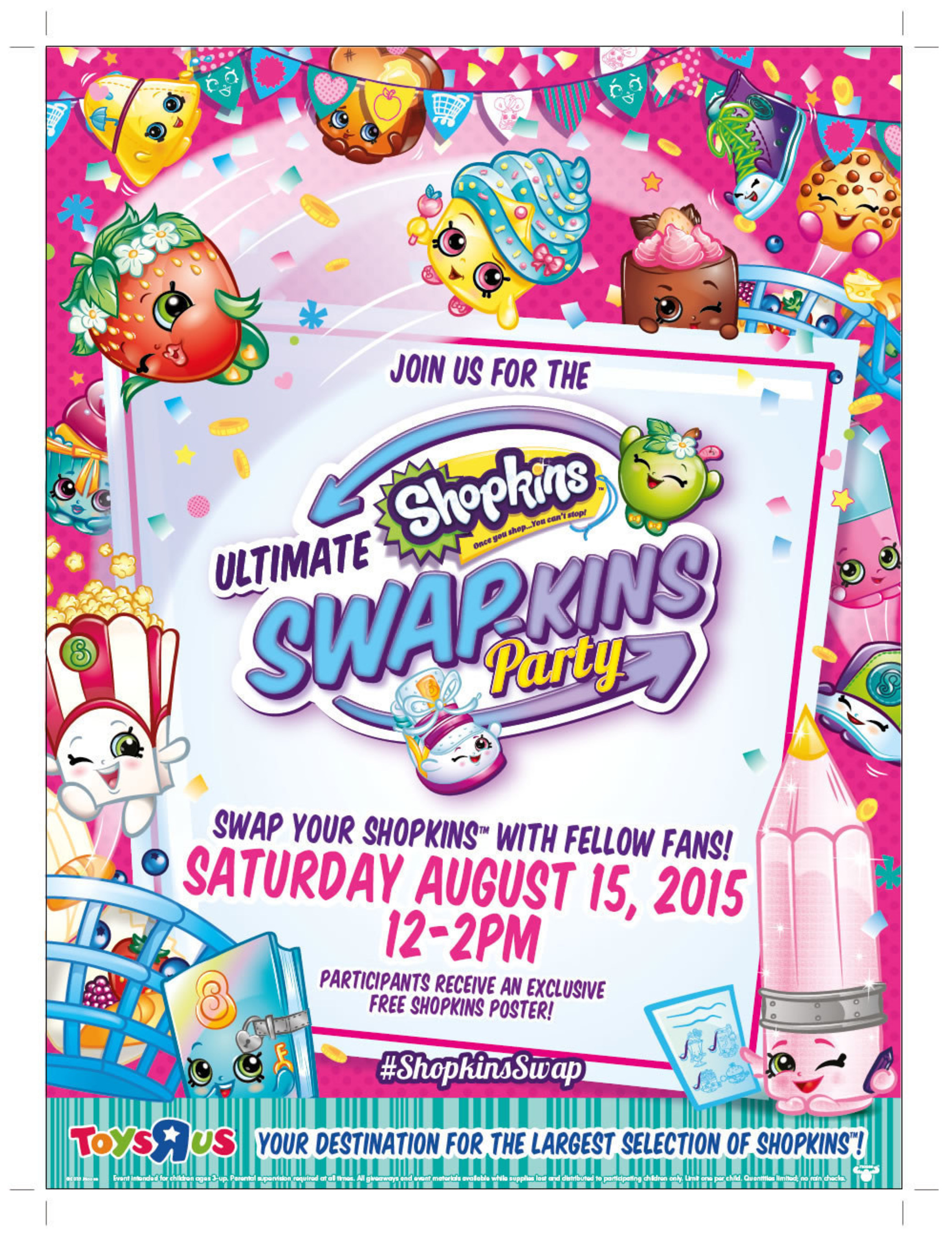 Moose Toys Invites Shopkins™ Fans To Swap Characters, Build Their Collections And Celebrate The