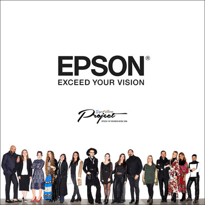 Epson hosted its second annual Digital Couture event that showcased 11 designers' collections from North and Latin America created using Epson's state-of-the-art textile printing solutions.