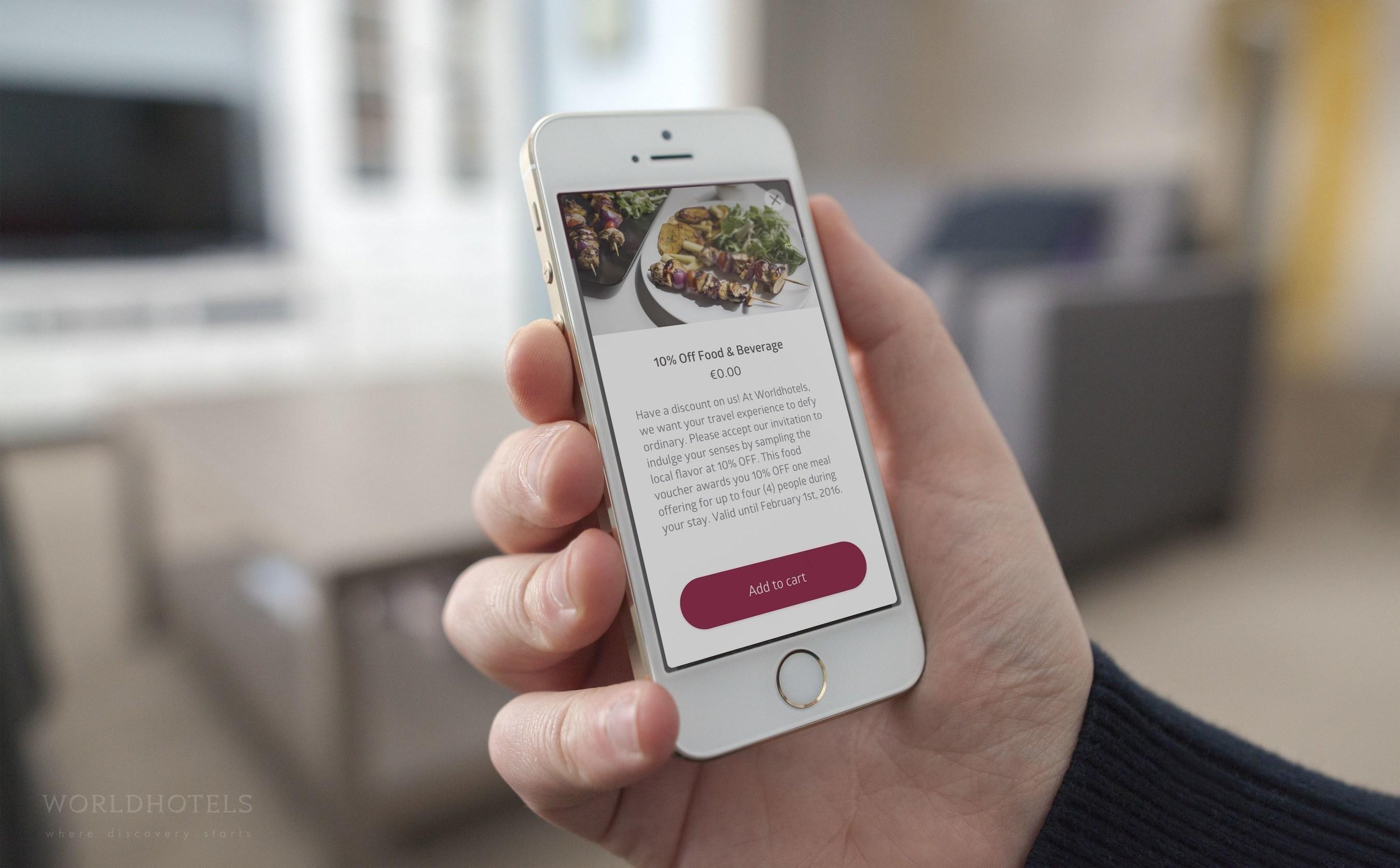 Worldhotels - The next generation of guest engagement with GuestDriven (PRNewsFoto/Worldhotels) (PRNewsFoto/Worldhotels)