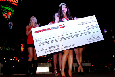 General Tire Announces the Winner of the 2011 Miss Mint 400 Competition - Keli Snyder