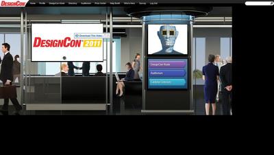 UBM Electronics' Virtual Trade Show Platform by UBM Studios.  (PRNewsFoto/UBM Studios)