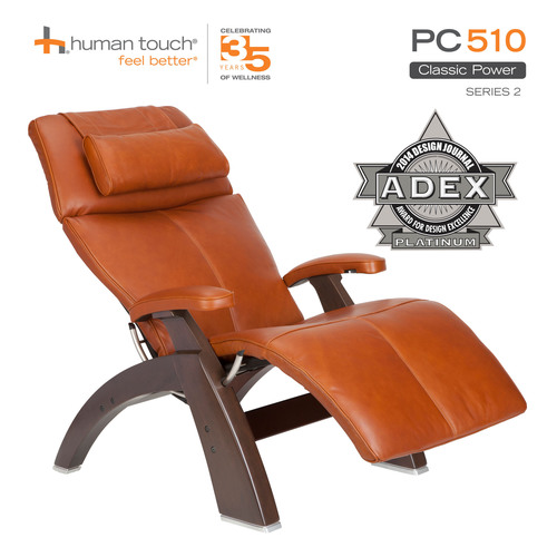 Human Touch(R) Perfect Chair(R) PC-510, Classic Power Zero-Gravity Recliner. (PRNewsFoto/Human Touch) ...