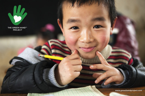 GP Cellulose announced support of UNICEF's water, sanitation and hygiene programs in rural China through an initiative called Green Hand(TM) Project, which will help approximately 15,000 school children. GP Cellulose will donate $1 for every metric tonne of Golden Isles(R) fluff pulp purchased by its customers in China, with a maximum contribution of $500,000.  (PRNewsFoto/Georgia-Pacific)