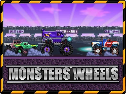 Monsters' Wheels - online game for PC (PRNewsFoto/MyRealGames.com)