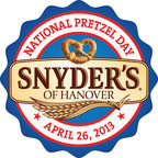 Snyder's of Hanover Brings the Flavor and Fun for National Pretzel Day.  (PRNewsFoto/Snyder's of Hanover)