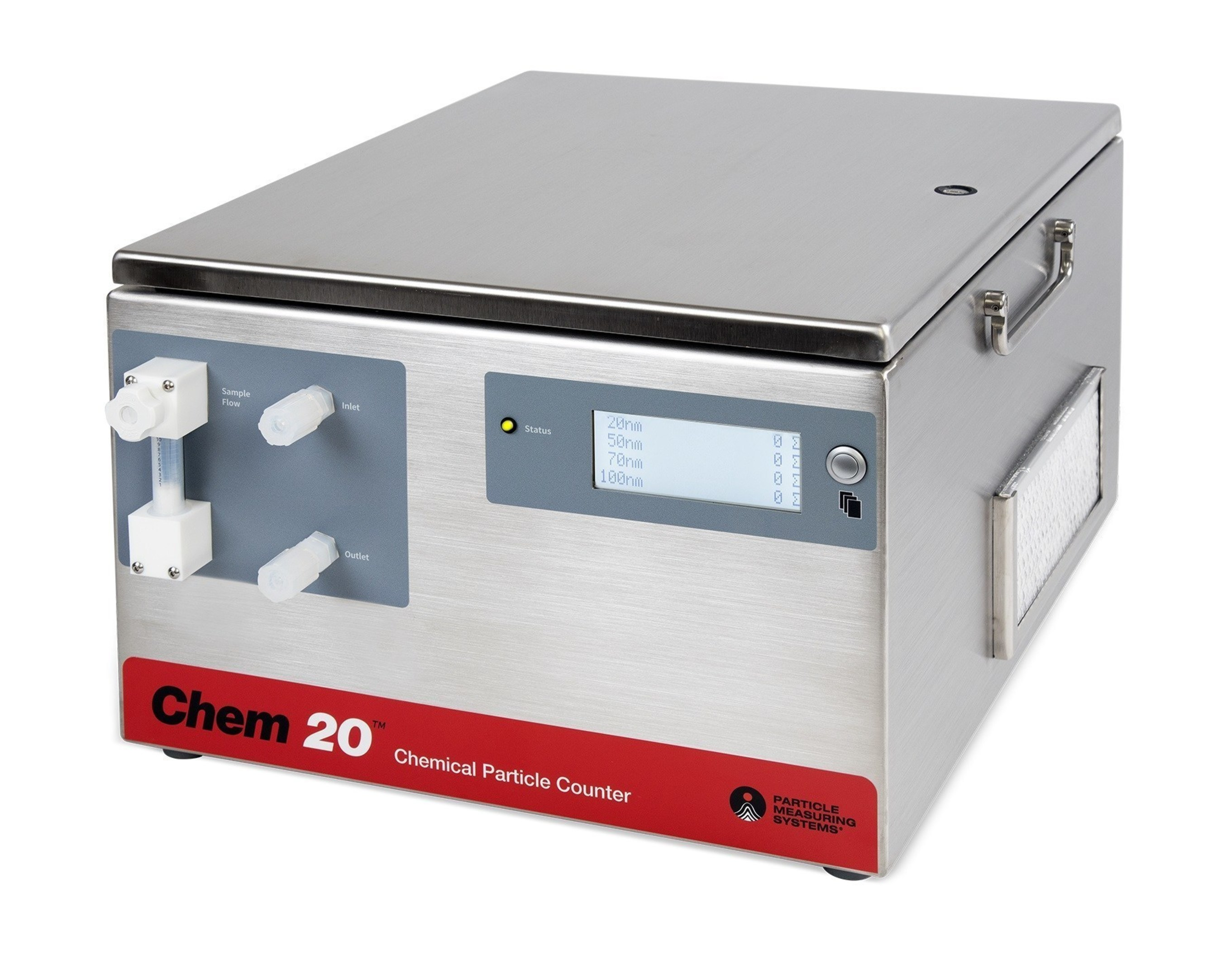 The World's First 20 Nm Chemical Particle Counter