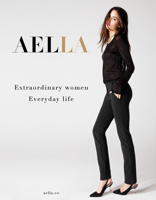 AELLA, pants for modern icons.  (PRNewsFoto/AELLA)