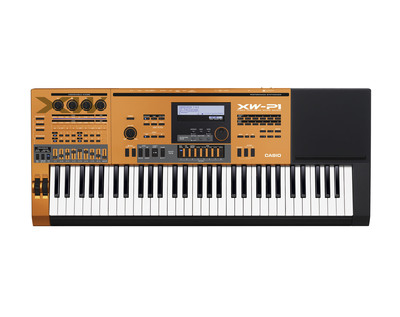 Casio Unveils Latest XW-P1 Performance Synthesizer in Legends Collection at South by Southwest 2013.  (PRNewsFoto/Casio America, Inc.)