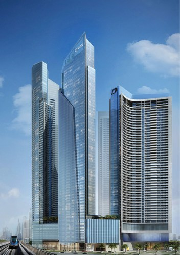 AYKON City, First freehold on Dubai Canal and Sheikh Zayed Road (PRNewsFoto/DAMAC Properties) (PRNewsFoto/DAMAC  ...