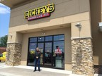Scott Lefever outside his new Dickey's Barbecue Pit in Lancaster. Opening celebrations kick off Thursday. (PRNewsFoto/Dickey's Barbecue)