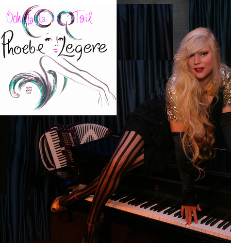 Multi-Talented, Red Hot Mama PHOEBE LEGERE will hit High C's at Avery Fisher Hall: From Low Down