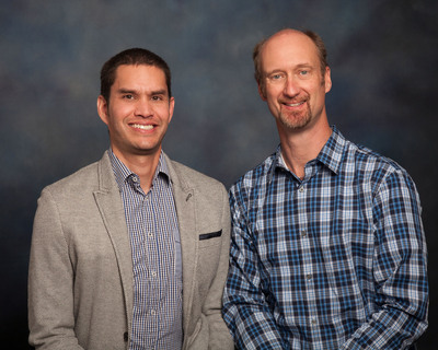 Left to right: Doug Williamson and Greg Stirling (Rob Porter not pictured). (PRNewsFoto/SpotGenie Partners, LLC) (PRNewsFoto/SPOTGENIE PARTNERS_ LLC)