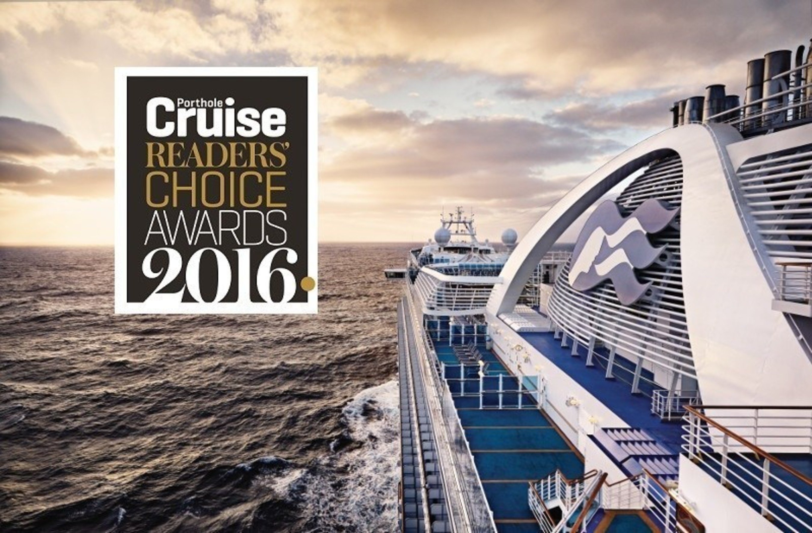 Princess Cruises Honored with Four Porthole Readers' Choice Awards