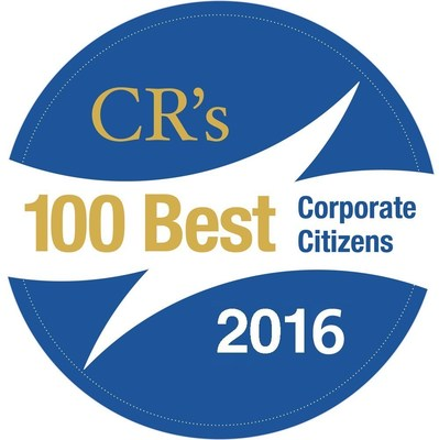 "Corporate Responsibility (CR) Magazine released its ""100 Best Corporate Citizens"" list today."
