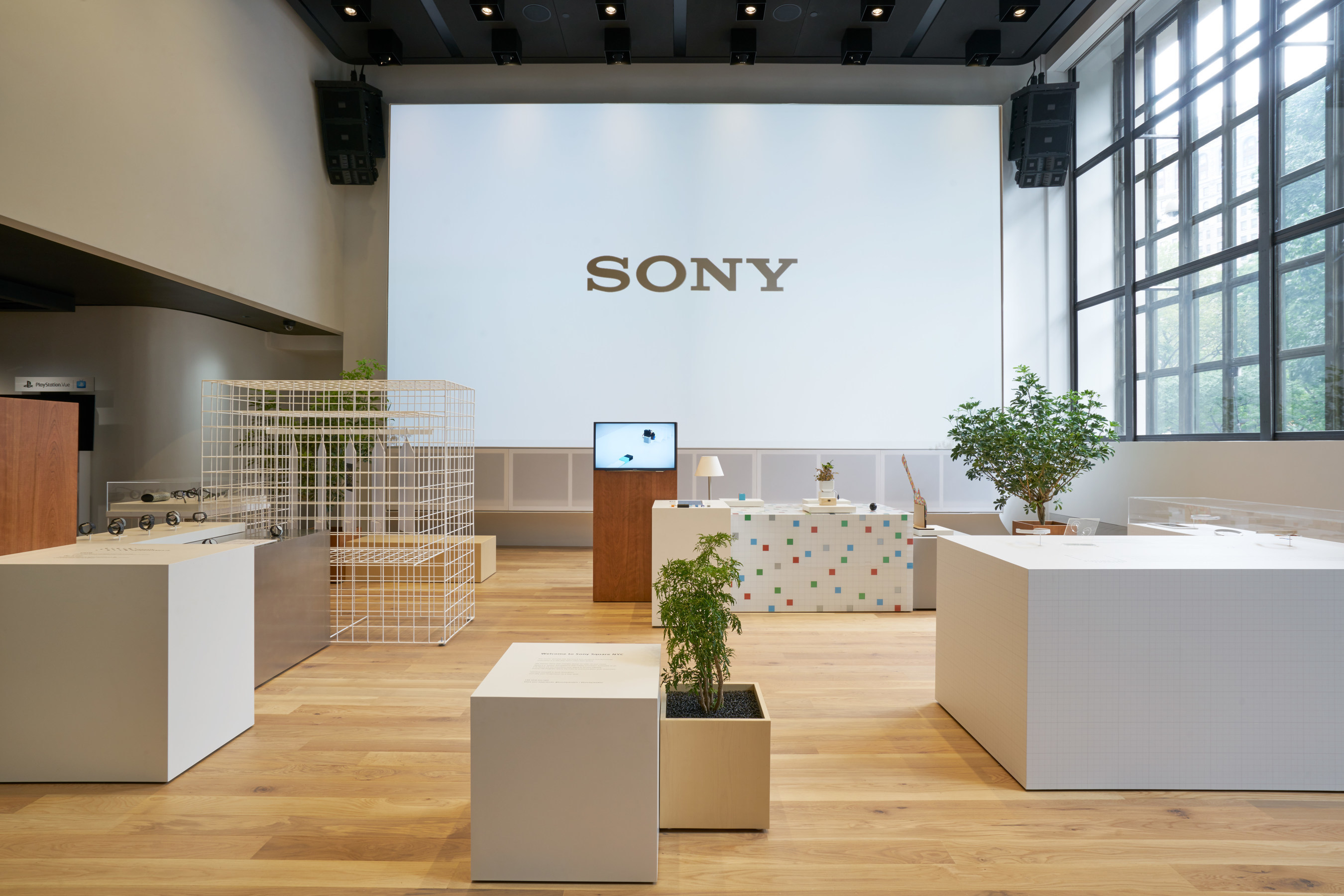 Sony Corporation of America Opens Sony Square NYC, a Showplace for the Latest in Entertainment and Technology