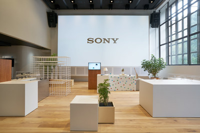 Sony's new showroom space, Sony Square NYC, opens up at 25 Madison Avenue in New York City.