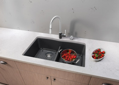 The BLANCO DIAMOND(TM) Equal Double Bowl Design - a classic style featuring a lower divide made for the hardworking kitchen    http://www.blanco-germany.com/en_us/en_us/sinks/product_catalog/sink.html?sid=1268778299944