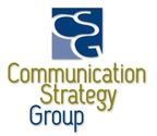 Communication Strategy Group, a brand storytelling agency (logo). (PRNewsFoto/Communication Strategy Group) (PRNewsFoto/Communication Strategy Group)